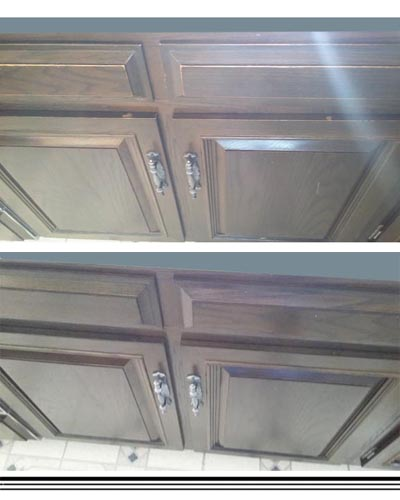 Carbondale cabinet refinishing